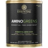 Amino Greens Vegan - 240G - Essential Nutrition - Unissex