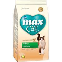 Ração Para Gatos Max Cat Professional Line Gatos Castrados Sabor Frango 1Kg