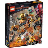 Lego Super Heroes - Disney - Marvel - Spider-Man - Longe De Casa - Batalha Molteman - 76128