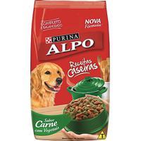 Ração Para Cães Alpo Receitas Caseiras Adultos Sabor Carne Com Vegetais 1Kg