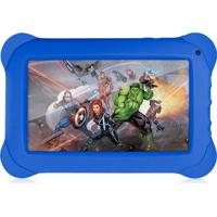 "Tablet Multilaser Disney Vingadores 7"" 8Gb Wi-Fi Nb240 Azul"