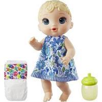Boneca Baby Alive Hora Do Xixi Com Acessórios - Unissex-Azul+Branco