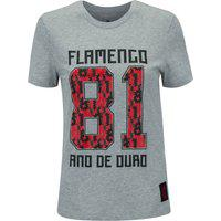 Camiseta Do Flamengo Adidas Manga Curta Graphic 21- Feminina
