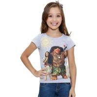 Blusa Infantil Princesa Moana Disney
