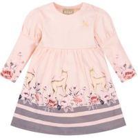 Vestido Bebê Menina Milon Rosa