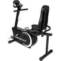 Bicicleta Ergometrica Horizontal Academia Natural Fitness - Unissex-Preto