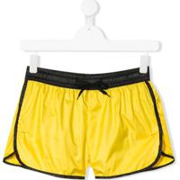John Richmond Junior Bermuda Esportiva Com Estampa De Logo - Amarelo