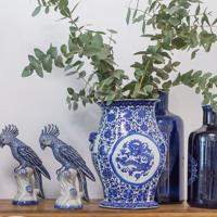 Vaso Decorativo De Porcelana Aldous