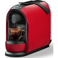 Máquina De Café Expresso Multibebidas Mimo Vermelho Três Corações 110V
