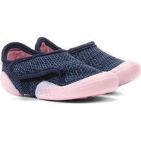 Tênis Infantil Klin New Confort - Feminino-Azul