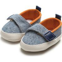 Sapato Pimpolho Menino Têxtil Azul-Marinho
