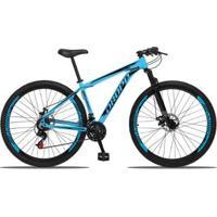 Bicicleta Aro 29 Dropp Aluminum 21 Marchas Freio A Disco Suspensão Dianteira - Unissex