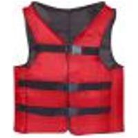 Colete Salva Vidas Auxiliar De Flutuação Vermelho Presilha 120Kg