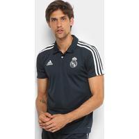 Camisa Polo Real Madrid Adidas Masculina - Masculino