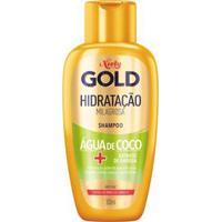 Shampoo Niely Gold Hidratação Poderosa Água De Coco 300Ml - Unissex-Incolor