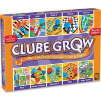 Kit 10 Jogos De Baralho E Tabuleiro Clube Grow
