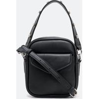 Bolsa Camera Bag Com Strass Na Alça