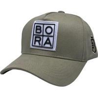 Boné Bora Trucker Grade - Unissex-Bege