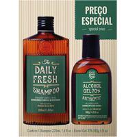 Kit Qod Higiene Shampoo +Álcool Em Gel 220Ml - Unissex-Incolor