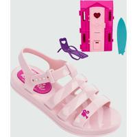 Sandália Infantil Barbie Dreamhouse Brinde Grendene Kids 21832