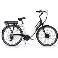 Bicicleta Elétrica Atrio Barcelona Aro 26 250W Preto/Branco – Bi183