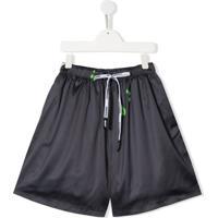 Duoltd Teen Swagg Flared Shorts - Cinza