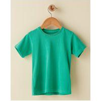 Amaro Feminino Camiseta Infantil Basica Estonada, Verde