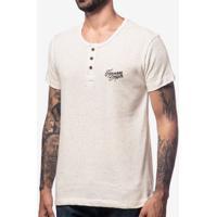 Camiseta Henley Oregon 103981
