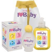 Kit Fiorucci Baby Água De Colônia 100Ml + Shampoo 250Ml + Mochila