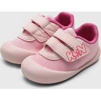 Tênis Klin Infantil Confort Plus Rosa