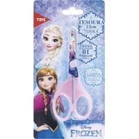 Tesoura Escolar 13Cm Frozen - Tris