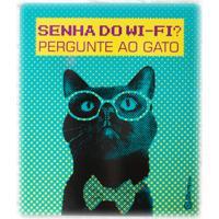 Placa Decorativa Senha Do Wifi - Catmypet