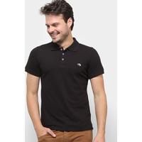 Camisa Polo Gajang Lon Soho Masculina - Masculino-Preto