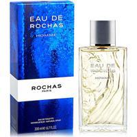 Perfume Eau De Rochas Homme Masculino Rochas Eau De Toilette 200Ml - Masculino
