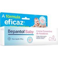 Creme Preventivo De Assaduras Bepantol Baby Bayer - 100G - Unissex-Incolor