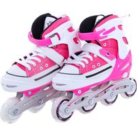 Patins Bel Sports All Style Street Rollers Tam M Rosa