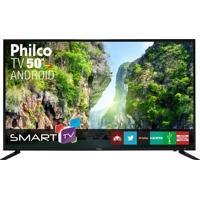 "Tv Android Led 50"" Fhd 1920X1080 Philco Bivolt Ptv50D60Sa"