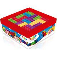 Blocos De Montar - Tand Kids - Super Caixa - 120 Peças - Toyster