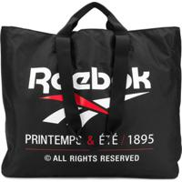 b3945c2e7 Dafiti; Reebok Bolsa Tote Grande Com Logo - Preto