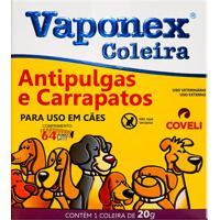 Coleira Vaponex Antipulgas E Carrapatos Para Cães Com 1 Unidade De 20G 64Cm