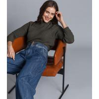 Calça Wide Leg Cintura Alta Jeans - Lez A Lez