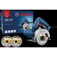 Serra Mármore Titan Gdc150 220V Bosch Com 2 Discos Maquifer