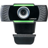 Webcam Warrior Maeve Hd 1080P Usb Lente 5P Preto Ac340