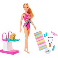 Barbie Explorar E Descobrir Nadadora - Mattel - Kanui