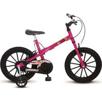 Bicicleta Colli Mtb Aro 16 Feminino Detalhes Preto - 123-10 - Feminino