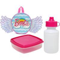 Lancheira Sestini Barbie Dreamtopia Roxa/Rosa