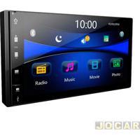 "Central Multimídia - Tay Tech - Mp8 - Tela 7"" - Sd/Bluetooth - Universal - Cada (Unidade) - S95Cod020"