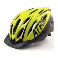 Capacete Para Ciclismo Mtb 2.0 Com Led Traseiro 19 Entradas De Ventilação Neon/Preto Atrio Tam. M - Bi168