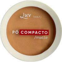 Pó Compacto Matte - Luv Beauty Beige - Unissex-Incolor