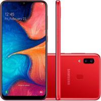 Smartphone Samsung Galaxy A20 32Gb A205 Desbloqueado Vermelho